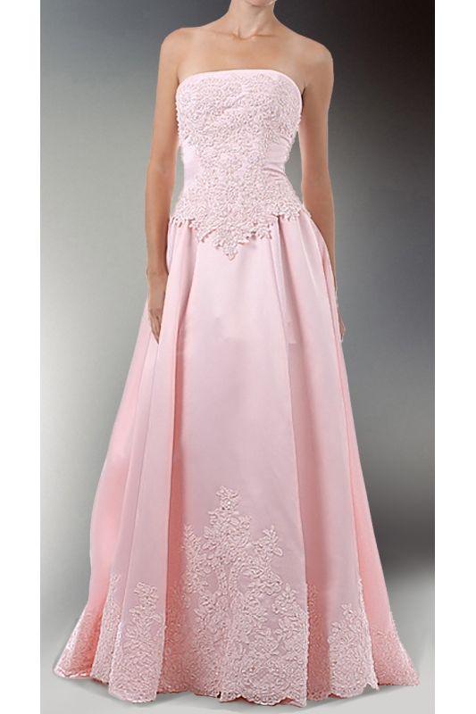 df10a3e38ae2 Růžové svatební šaty