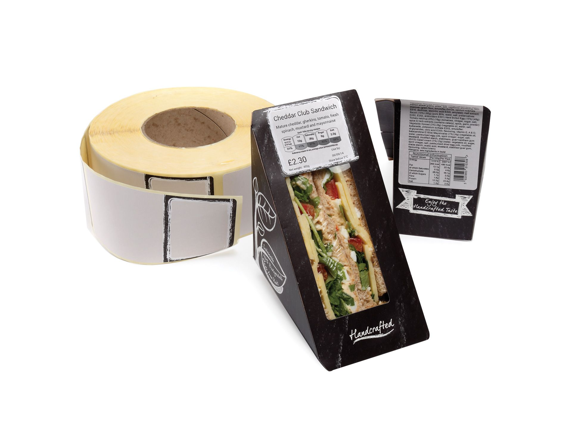 Planglow | GTR029 - Gastro Nutri Roll Label | Eco Packaging