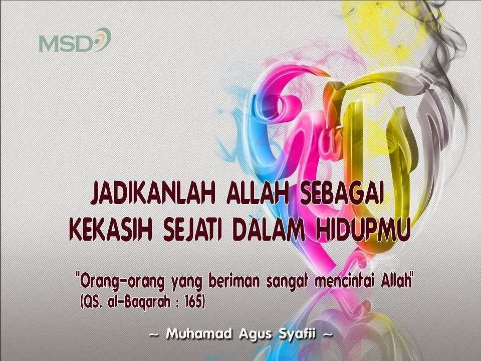 Kata Islami Dengan Gambar Iman Islam Motivasi