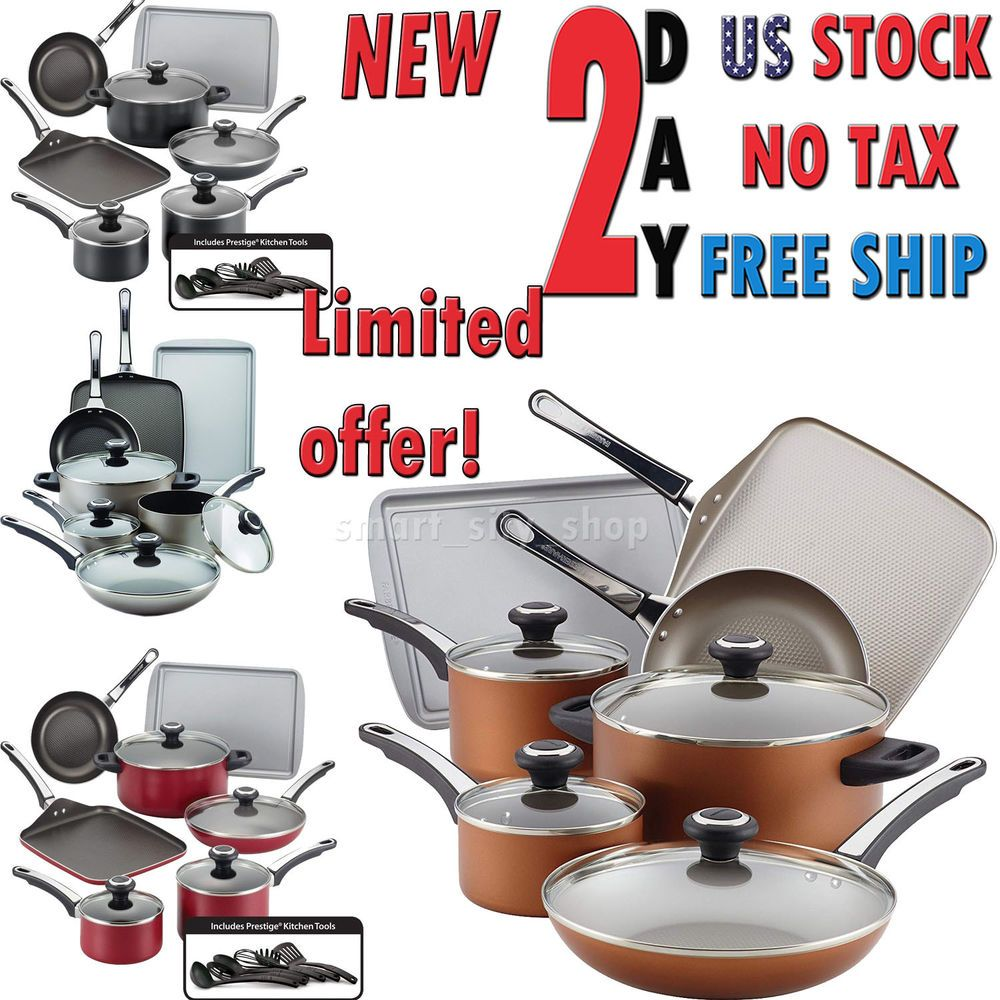 Frying Home Nonstick Pan Cookware Set Cooking Kitchen Pots And