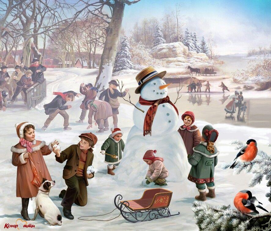Сделать самую, открытки праздники времен года