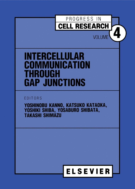Intercellular Communication Through Gap Junctions Ebook