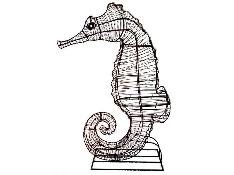 Seahorse+Aquatic+Animal+Topiary+Frame | Beach house | Pinterest ...