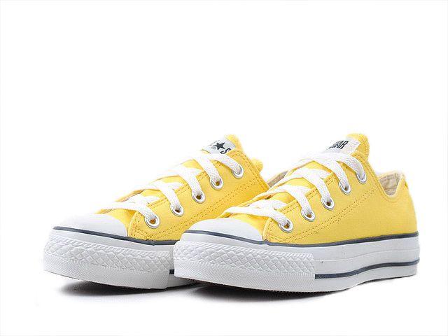 Converse CT OX Chucks Peppermin Low Baskets for Women (Yellow) Yellow