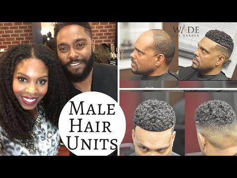 Male Hair Units