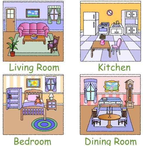 Imagenes de las partes de una casa - Imagui | educacion | Pinterest