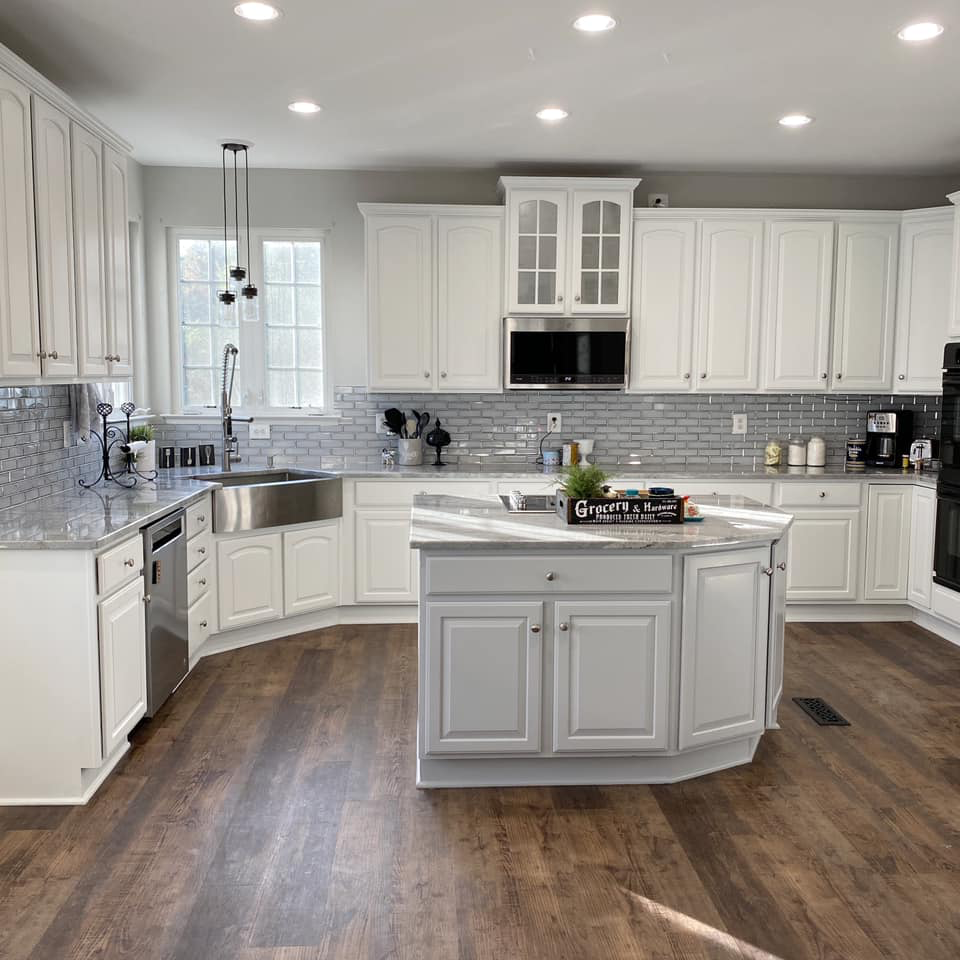 Favorite White Kitchen Paint Colors in 2020
