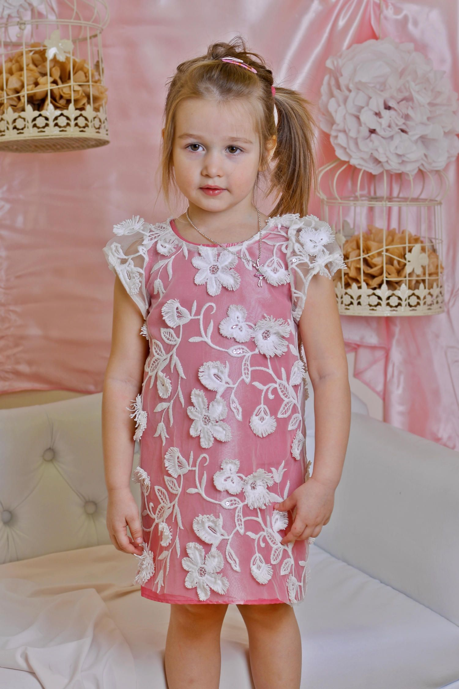 Pink bridesmaid lace dress girl attending wedding guest dresses pink bridesmaid lace dress girl attending wedding guest dresses tender dress for kids children ombrellifo Gallery