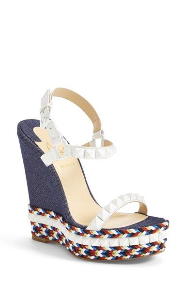 Christian Louboutin Wedges Moda