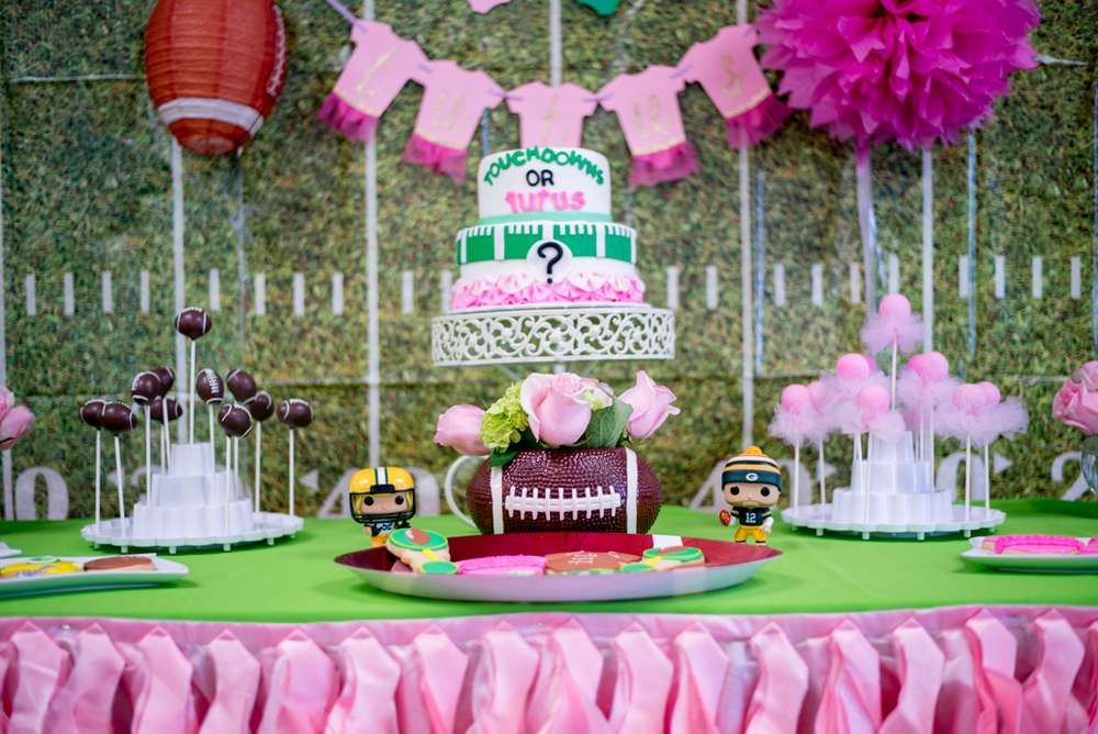 Touchdown Or Tutus Gender Reveal Party Ideas