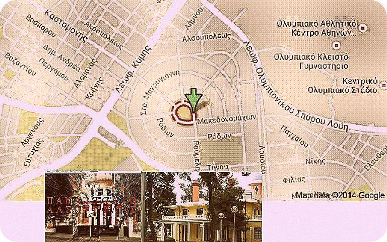 Alsoypolh Alsoupoli In Nea Iwnia Attikh Four Square Map Earth