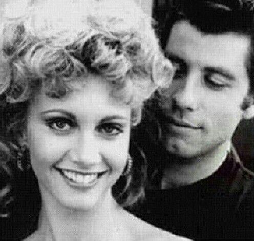 John Travolta and Olivia Newton John, Grease. #johntravolta #olivianewtonjohn #grease #78