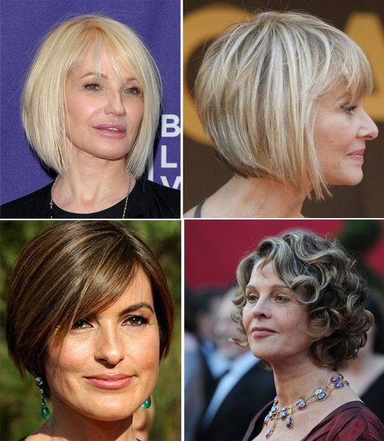 Фото стрижек для женщин после 45 лет: выбираем лучшие ...