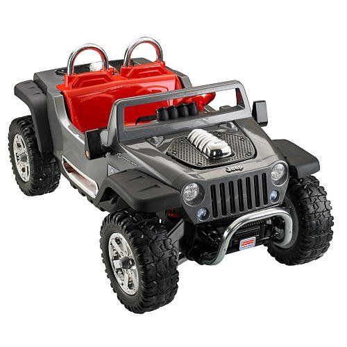 Hurricane Xtreme Power Wheels Jeep Gives Kids The Green Light For