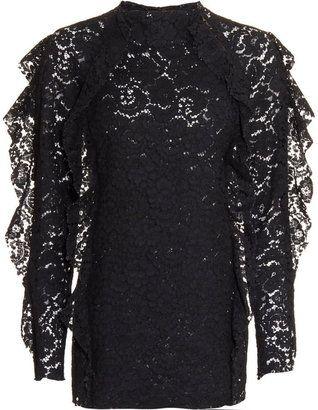 ShopStyle: Lanvin Lace Top