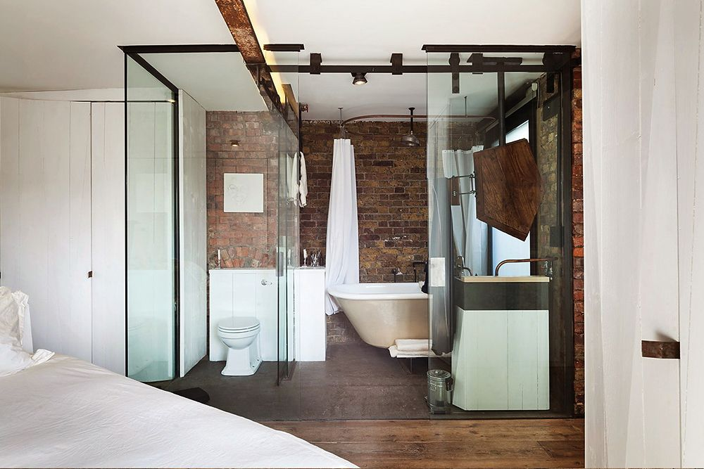 Spacious Apartment in London by current owner + Michaelis Boys - Bathroom Glass