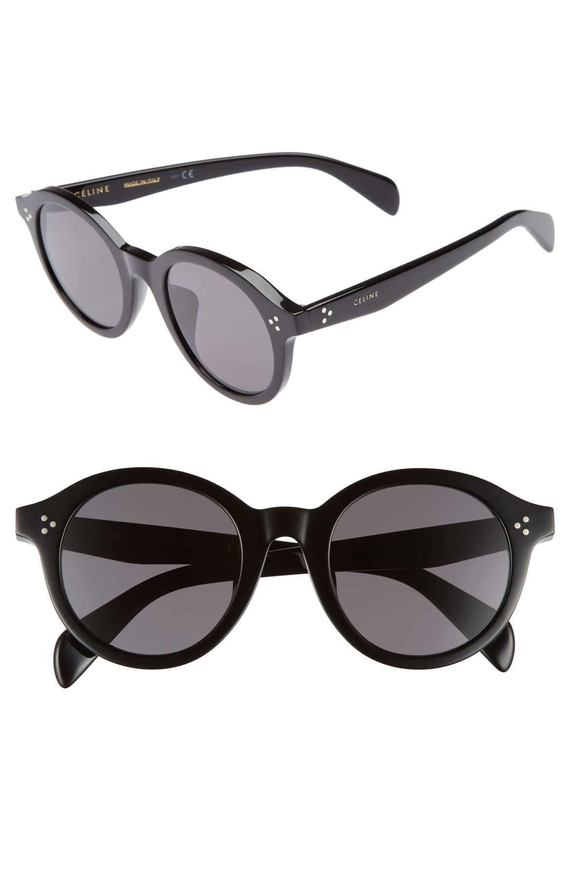 ce4c1b86ae9 Special Fit 50mm Round Sunglasses
