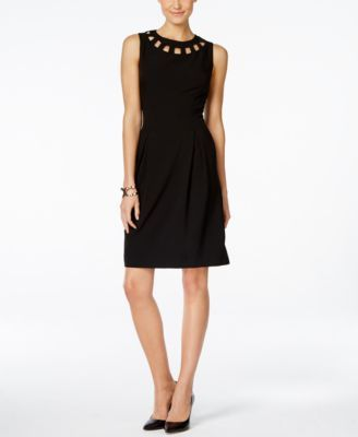INC International Concepts Sleeveless Cutout Sheath Dress, Only at Macy's - Dresses - Women - Macy's