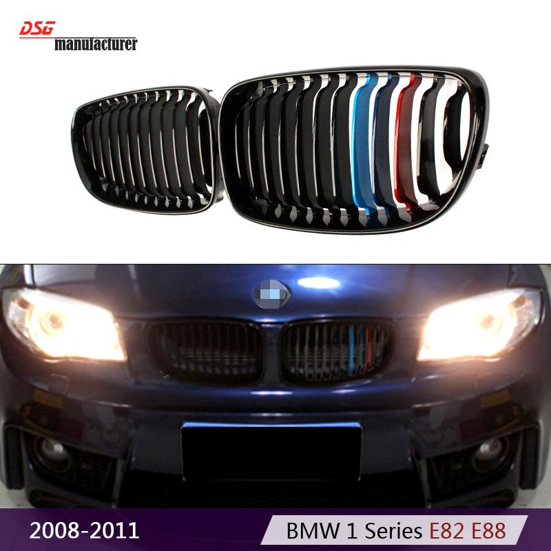 E82 Replacement Abs Black Grill Grille For Bmw 1 Series E88 2 Dr