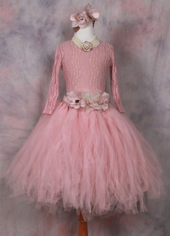 Victorian Tutuformal Tutu Flower Girl By Elenacollectionusa On