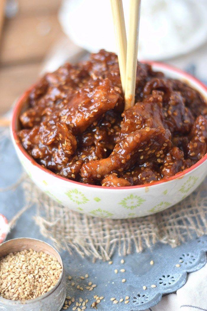 Photo of Honey Sesame Chicken Recipe #dinner #dinnertime