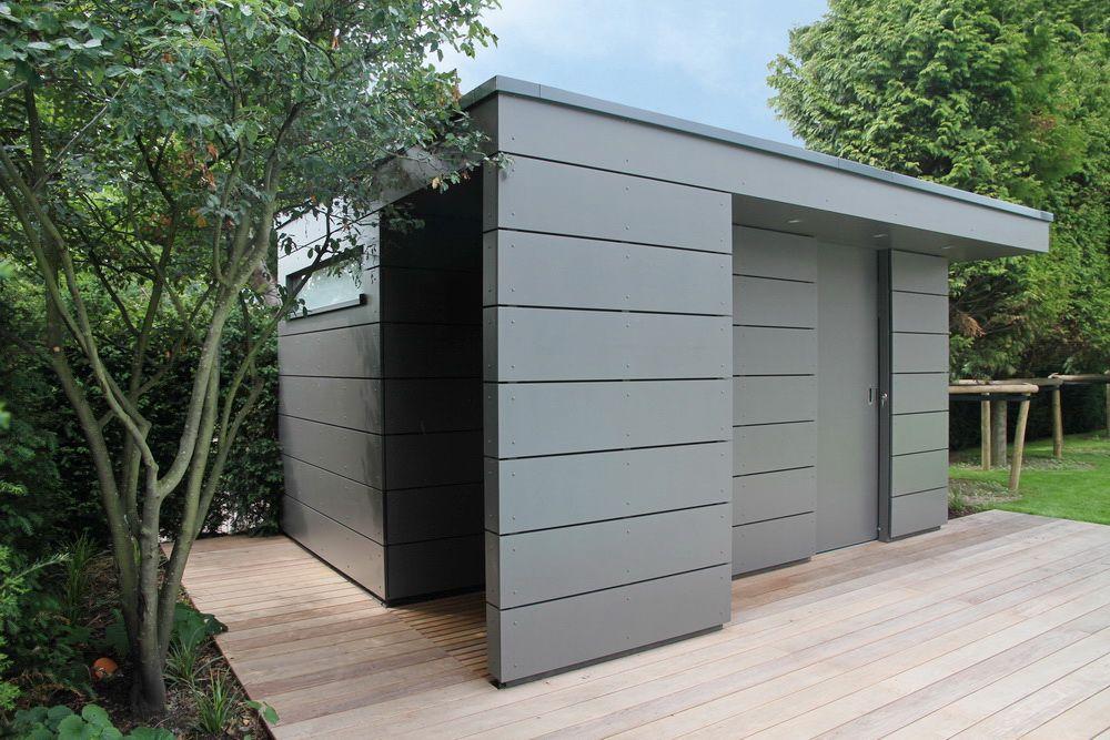 Schlichtes, elegantes DesignGartenhaus Box mit