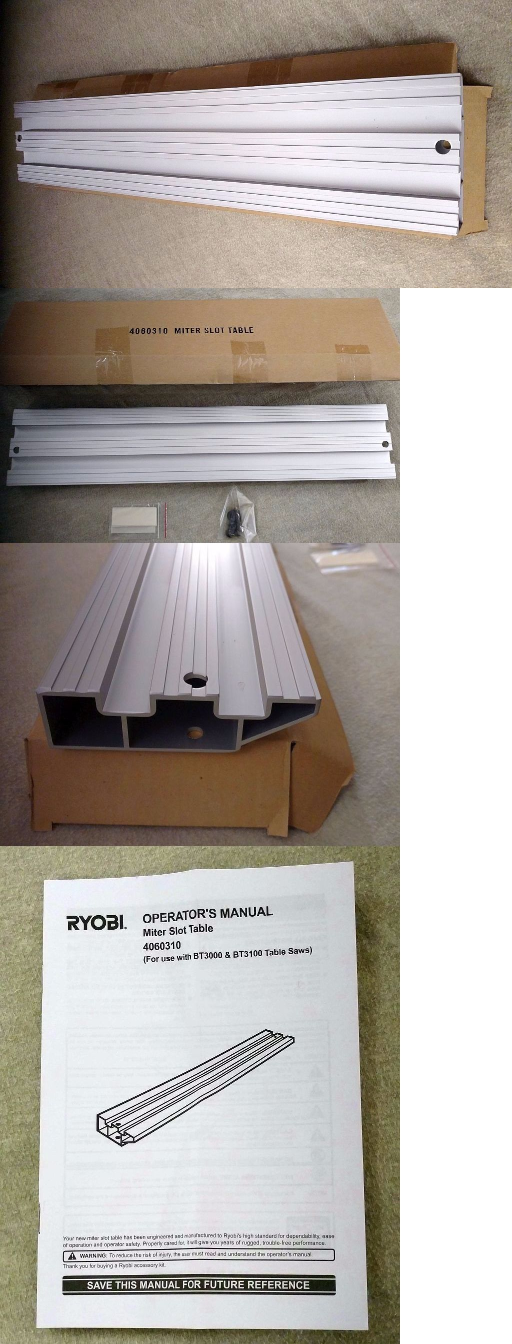Ryobi Bt3000 Miter Slot Table Design Ideas