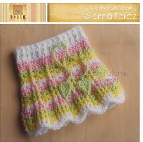 Instant Download Primavera Skirt Pattern Crochet Baby Skirt