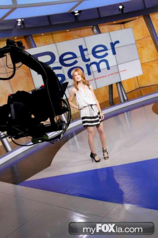 Leann Tweeden Peter Som For Kohl S Los Angeles Fox 11 News Fox 11