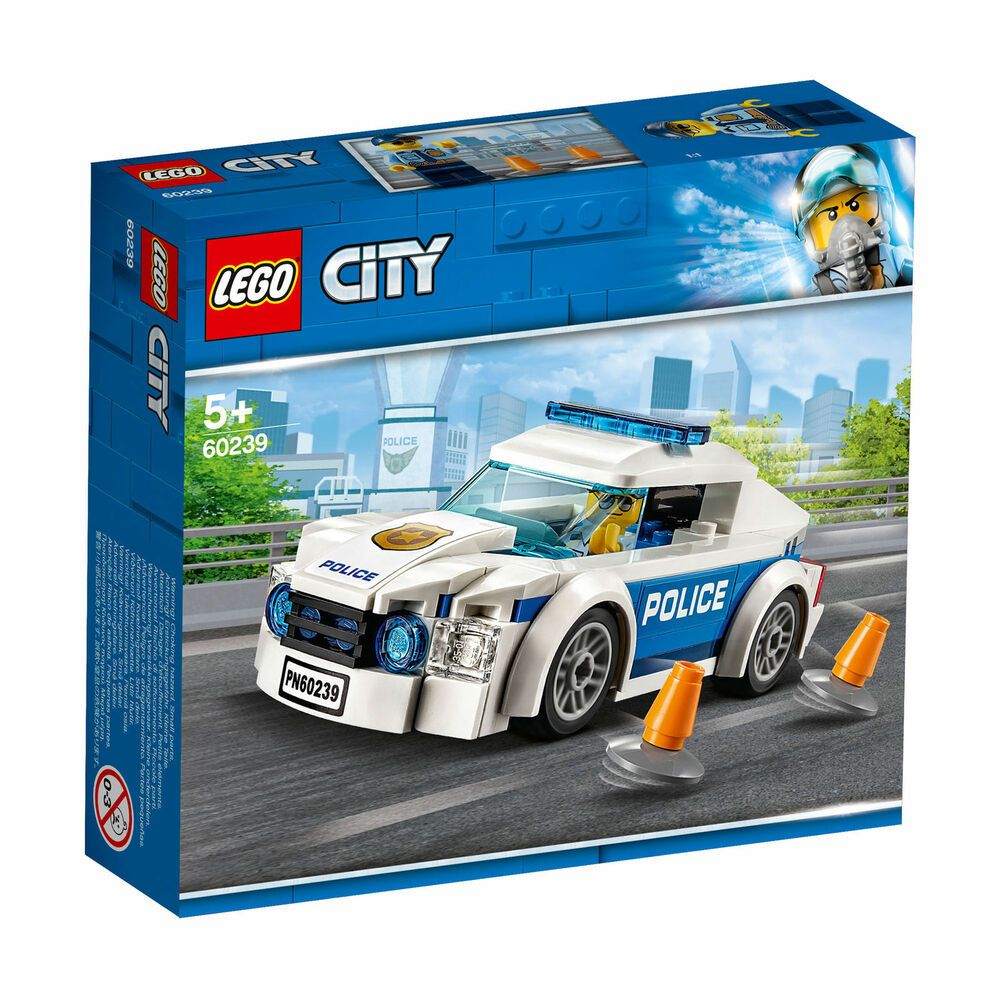 60239 Lego City Police Patrol Car 92 Pieces Age 5 New Release For 2019 New Afflink When You Click On Links To Various Merchan Lego City Lego City Police Lego