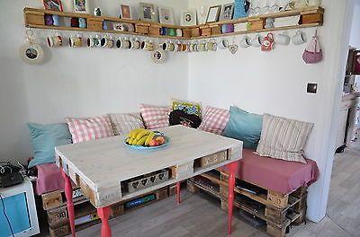 eckbank aus paletten google suche palettenm bel pinterest. Black Bedroom Furniture Sets. Home Design Ideas