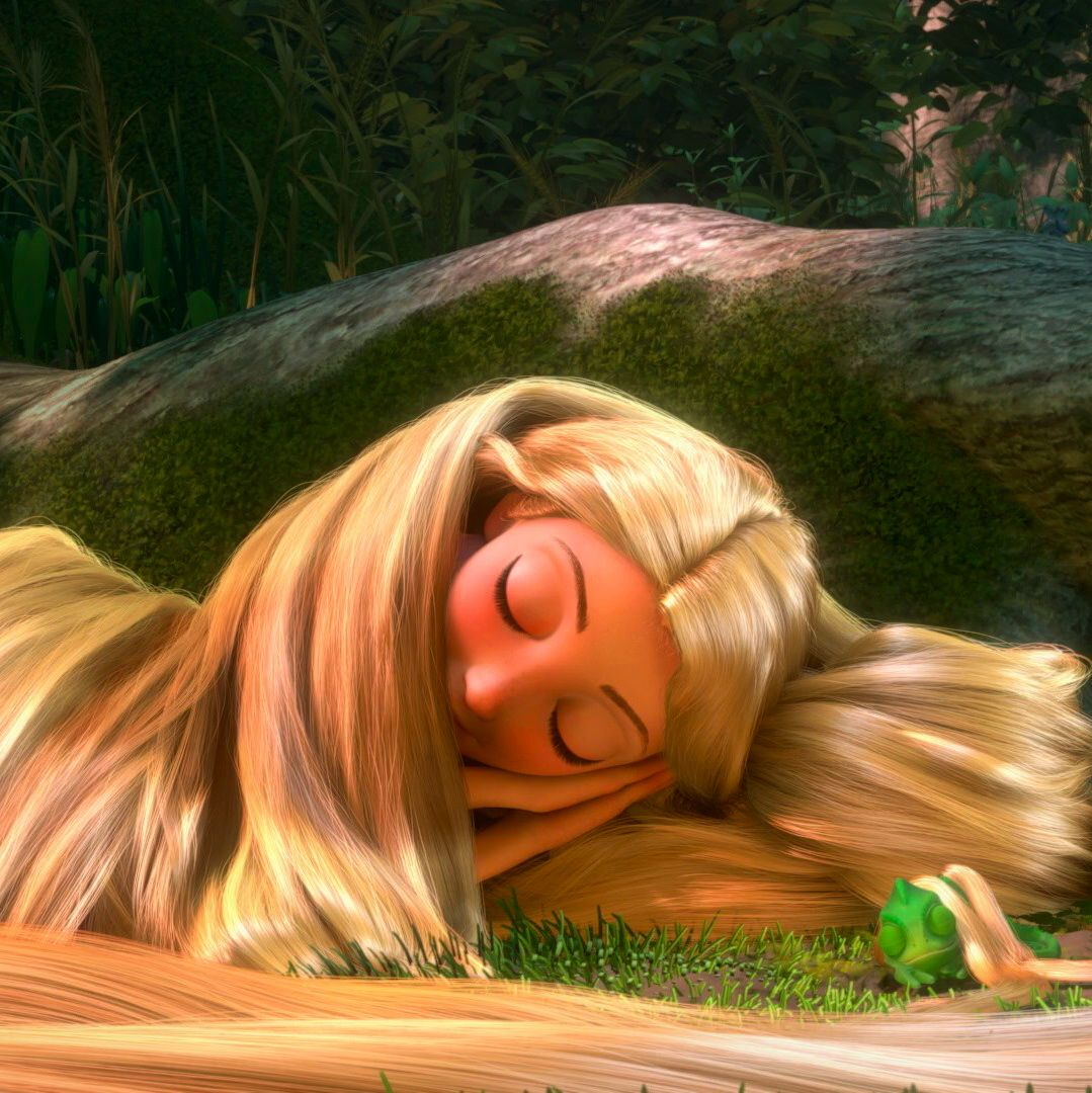 Awwwww Rapunzel And Pascal Sleeping Wallpapers Love S