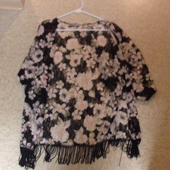 Kimono super cute just like new Charlotte Russe Jackets & Coats