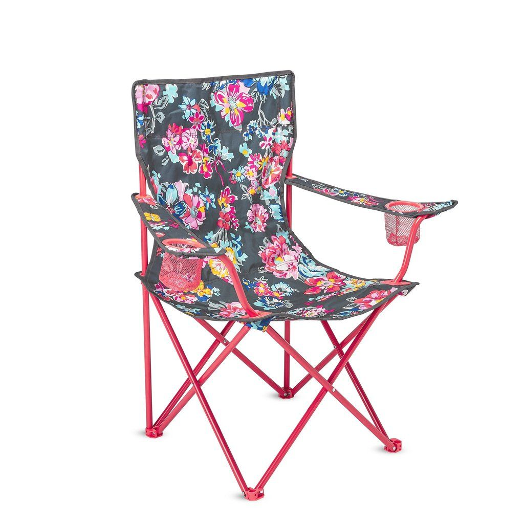 Foldable Chair, Pretty Posies Lifeguard Press Foldable