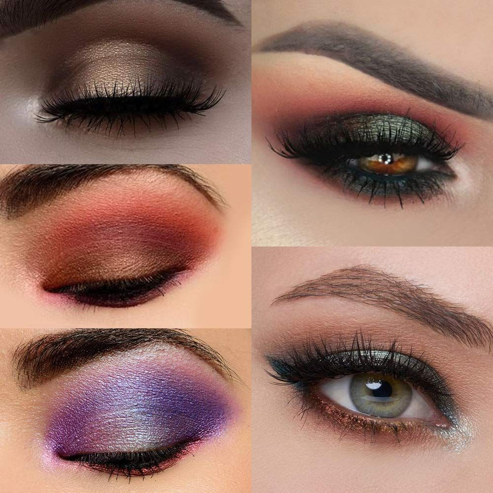 Prism Makeup 21 Colors Pigmented Eyeshadow Palette 6 Matte