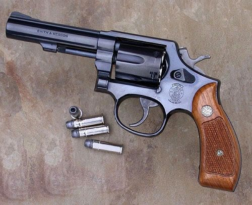 My first pistol Smith and Wesson  38 special handed down to