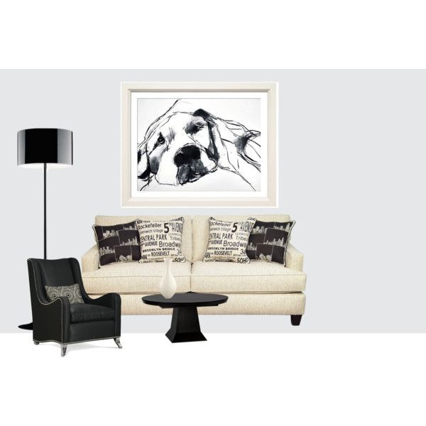 living room, created by martinadugonjic on Polyvore