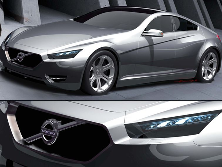 Nouphone J. Bansasine creates a slick 2015 Volvo S90 four-door sports car concept while interning at the Volvo Monitoring and Concept Center.