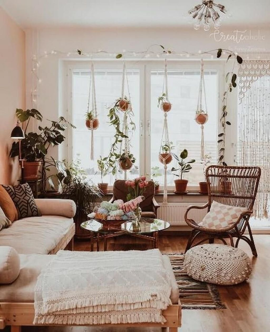Lovely Boho Chic Apartment Decor Ideas Domashnij Dekor Dizajn Doma Interer