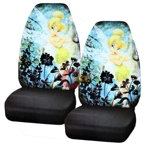 Fabulous Details About Tinkerbell Car Seat Cover Set Auto Accessories Pabps2019 Chair Design Images Pabps2019Com