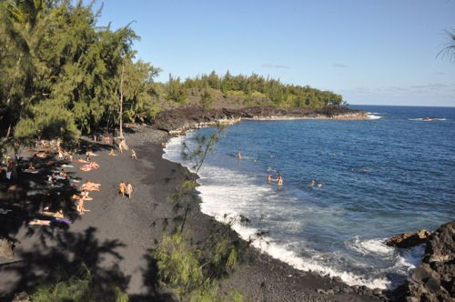 Hawaii big island nude beach