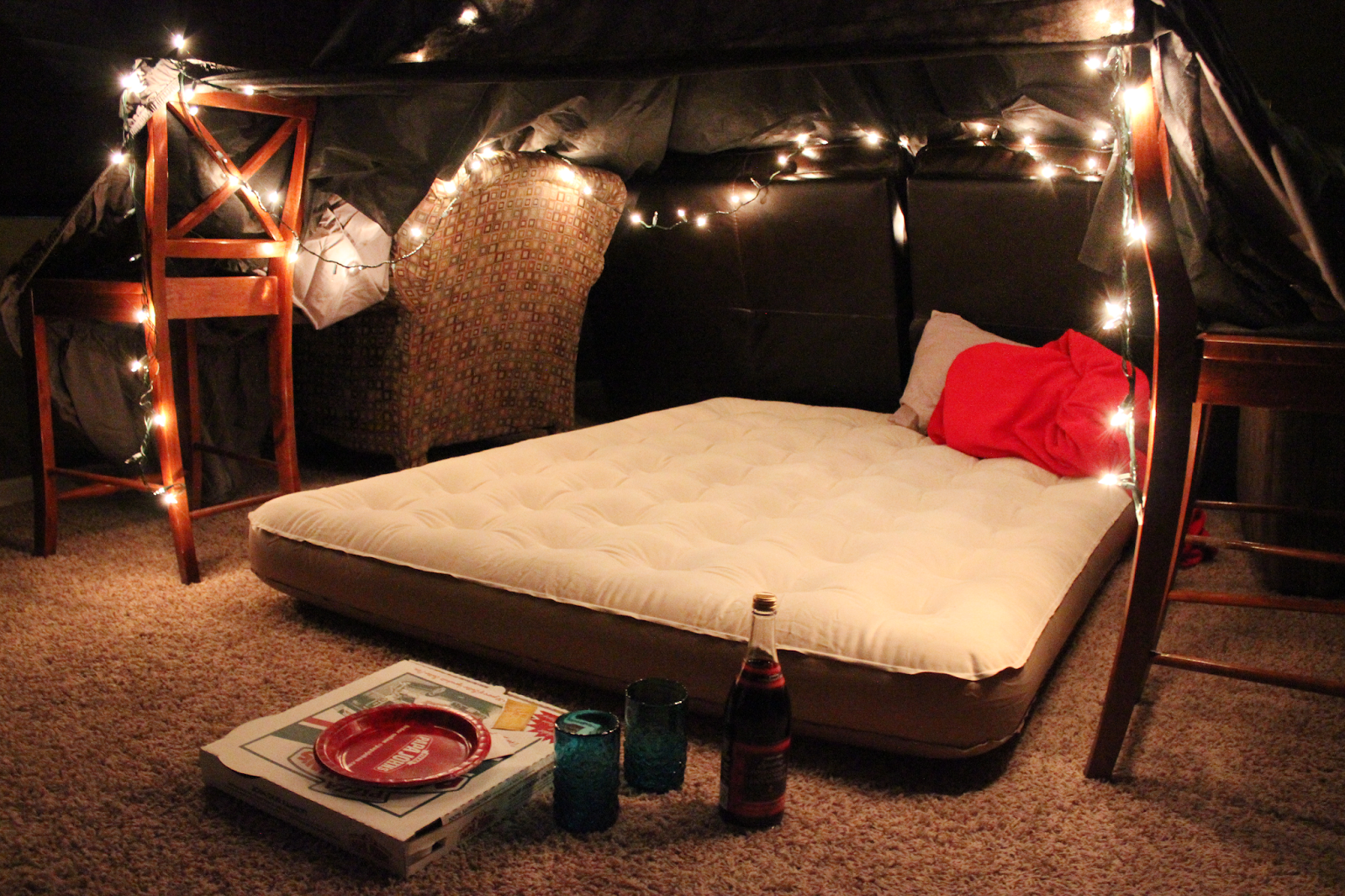 12 months of dates: january: romantic fort night | marriage