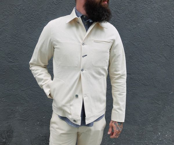 ad18970cdb3 Rogue Territory Supply Jacket Natural Selvedge Denim – Snake Oil Provisions