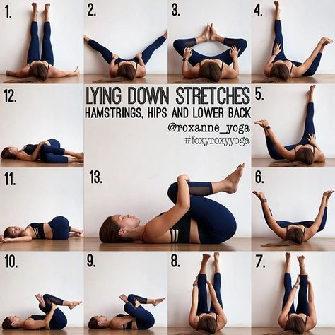 15min stretch sequence on your back this pretty much sums