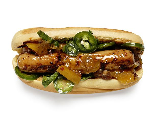 Easy hot dog topping ideas food network dog foods and recipes jerk chicken dogs recipe food network kitchens food network foodnetwork forumfinder Gallery