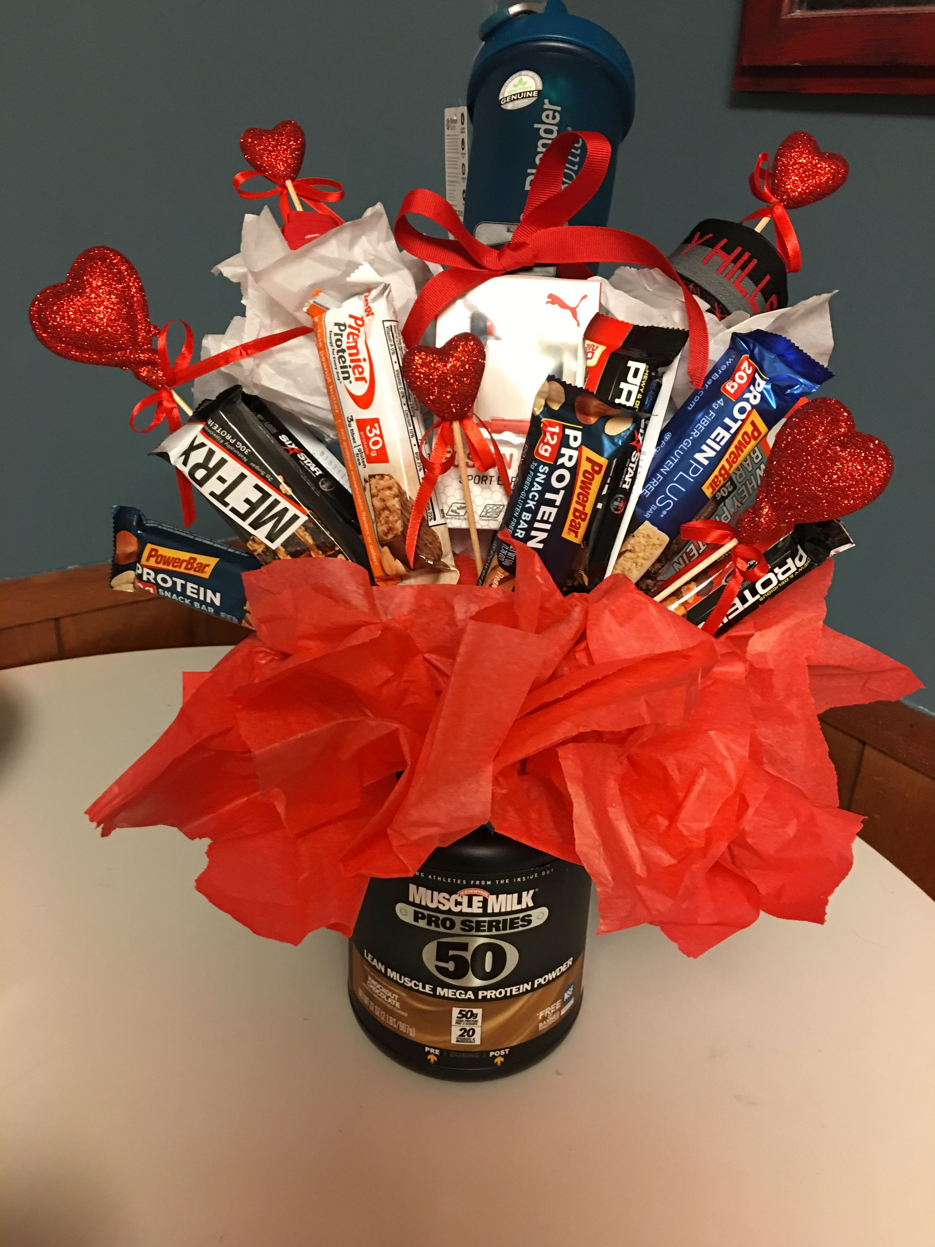 Protein Him Valentines Day Workout Gift