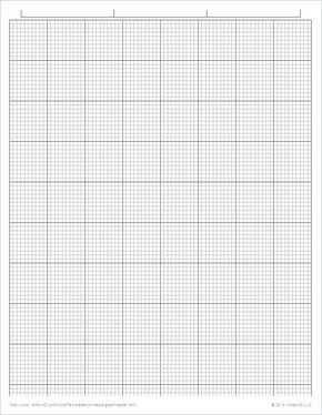 Free Printable Engineering Graph Paper 1 10 Inch Pdf From Vertex42 Com Printable Graph Paper Graph Paper Printable Paper