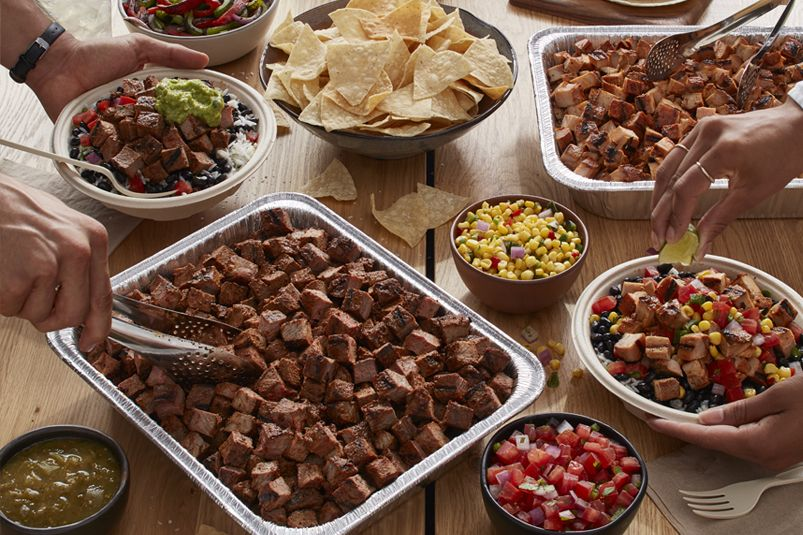 Qdoba mexican eats mexican restaurants catering in