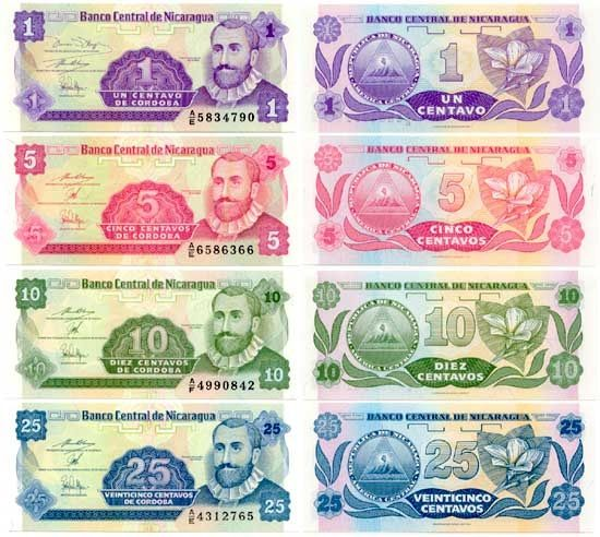 The Official Currencies Of Nicaragua Are Cordoba And U S Dollar
