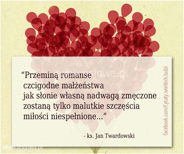 Przeminą romanse, czcigodne małżeństwa…